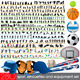 280 Sport Silhouettes and Equipment Set - GraphicRiver Item for Sale