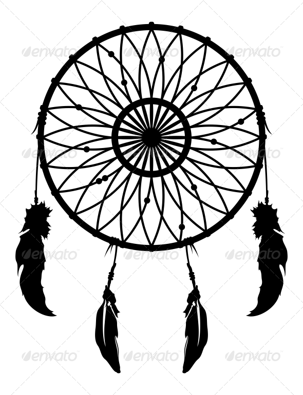 dreamcatcher vector by twicolabs graphicriver rh graphicriver net dreamcatcher victor tripadvisor dream catcher vector