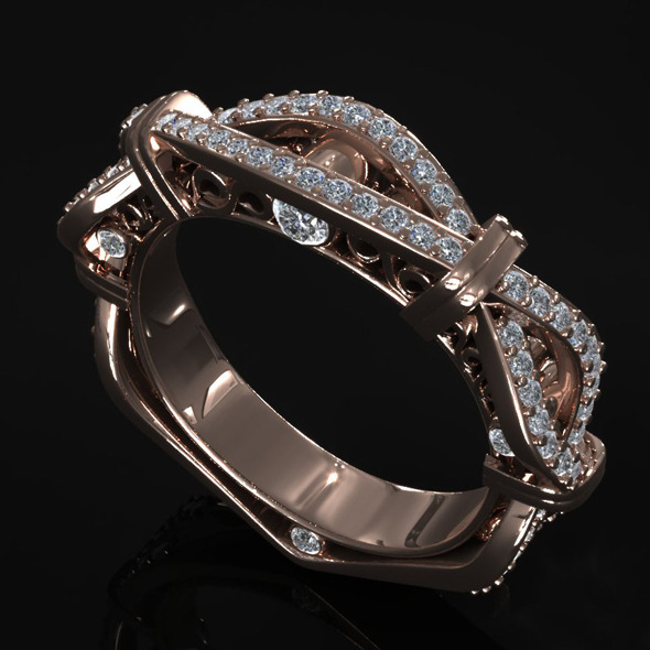 Diamond Ring Creative01 - 3DOcean Item for Sale