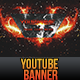 YouTube One Channel Design Banner V2 - GraphicRiver Item for Sale