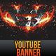 YouTube One Channel Design Banner V2 - GraphicRiver Item for Sale