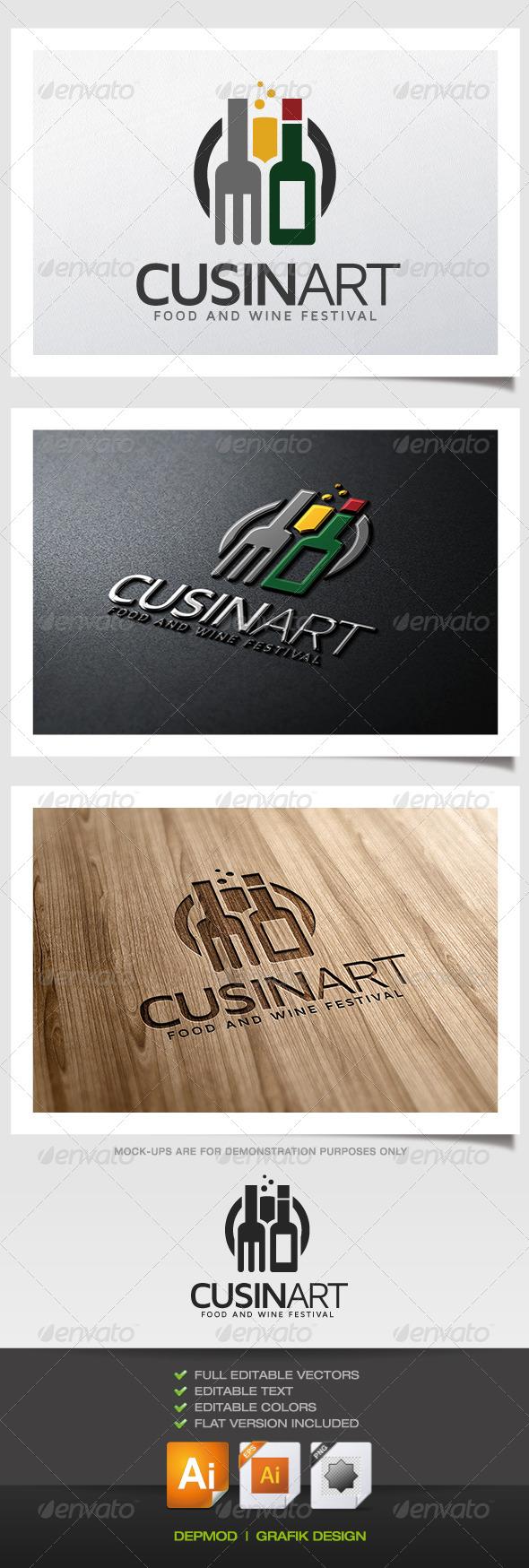 Cuisinart Logo - Food Logo Templates