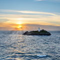 Sunset At Godrevy - PhotoDune Item for Sale