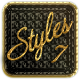 7 Luxury Styles vol. 4 - GraphicRiver Item for Sale