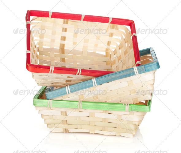 Fruit basket - Stock Photo - Images