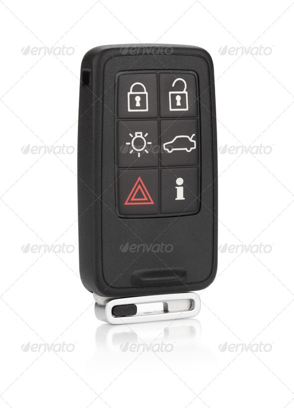 Car remote key - Stock Photo - Images