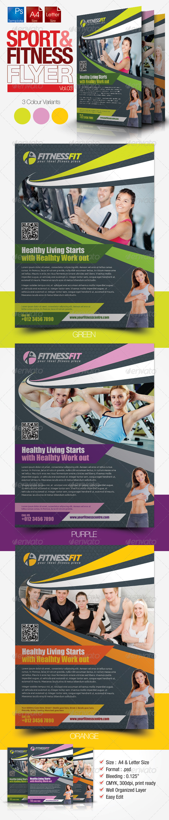 Fitness Flyer Vol.3 - Sports Events