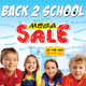Back to School Mega Sale Flyer Template / Magazine - GraphicRiver Item for Sale