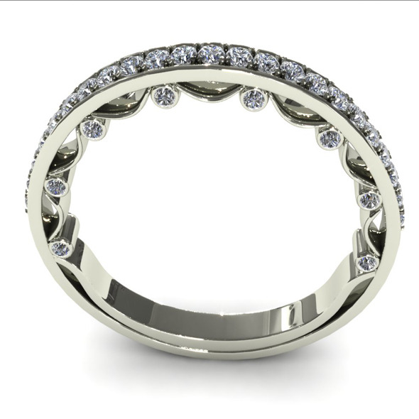 Diamond Ring Creative 028 - 3DOcean Item for Sale