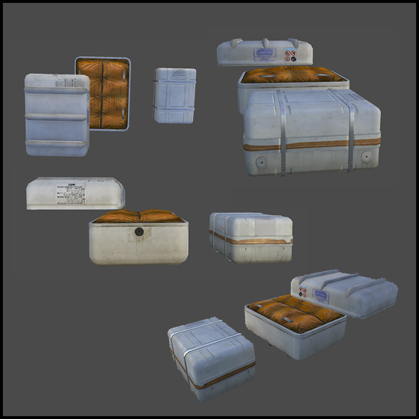 Liferaft - 3DOcean Item for Sale