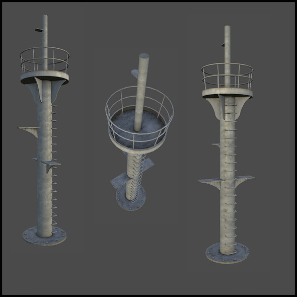 Outpost Tower - 3DOcean Item for Sale