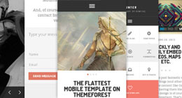 Mobile HTML/PHP templates