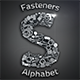 Fasteners Alphabet - GraphicRiver Item for Sale