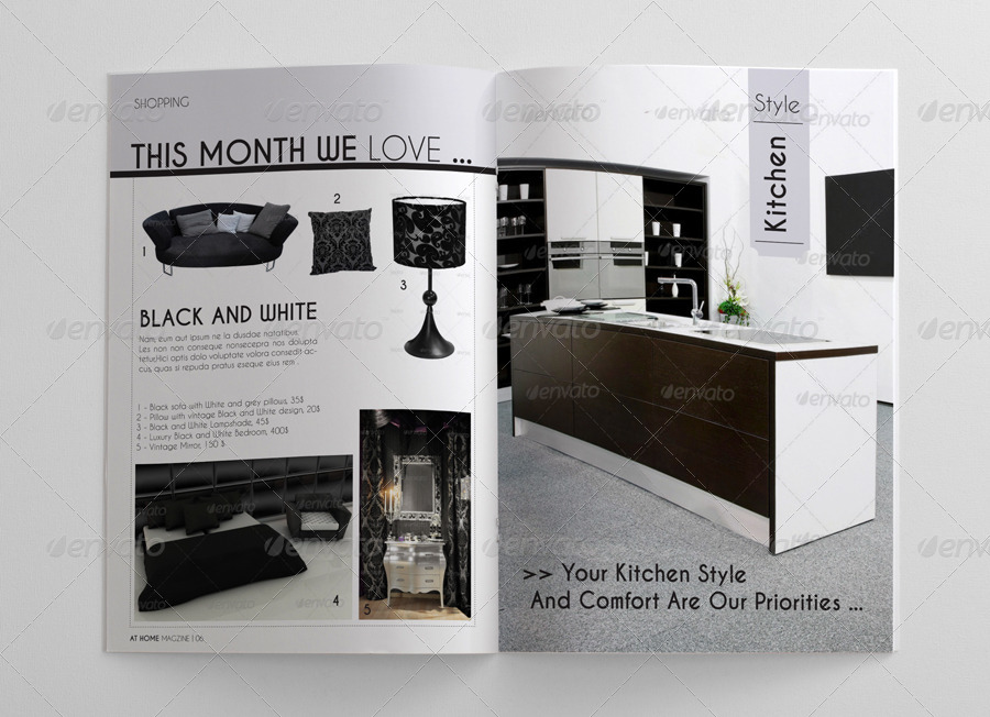 Interior design magazine template by idesignstudionet for Interior design online magazine
