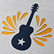 Guitar Rock Logo Template - GraphicRiver Item for Sale