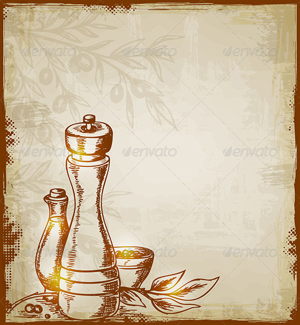 Background With Spices By Artness Graphicriver