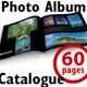 Travel Photo Album Catlog. Square Template - GraphicRiver Item for Sale
