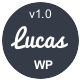 Lucas - Personal Minimalist Wordpress Blog Theme - ThemeForest Item for Sale