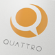 Quattro - Q Letter Logo Template - GraphicRiver Item for Sale