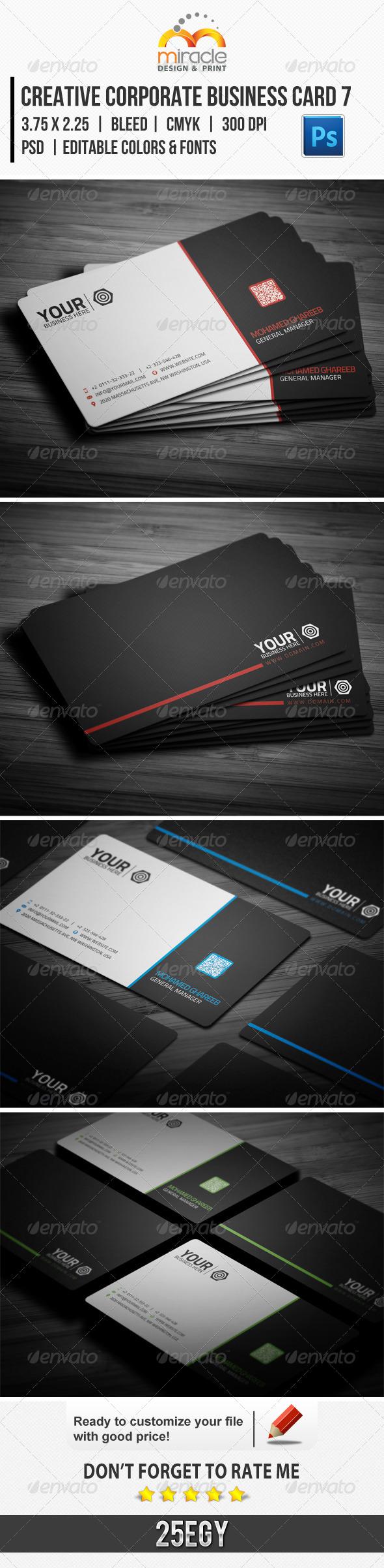 Creative Corporate Business Card 7 - Corporate Business Cards