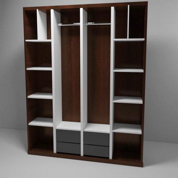 Bedroom Closet  - 3DOcean Item for Sale
