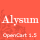 Alysum - Premium OpenCart Theme with Extras Nulled