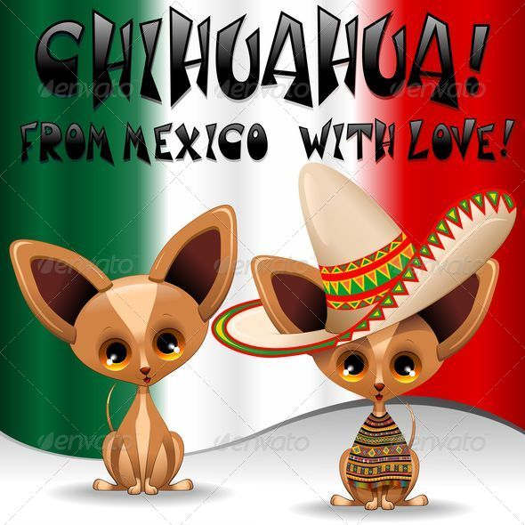Cartoon Characters Mexican : Chihuahua puppy dog cartoon from mexico by bluedarkat