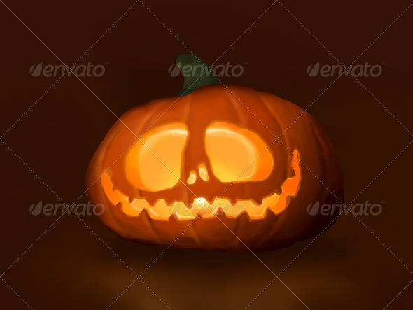 Halloween Pumpkin - Characters Illustrations