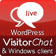WordPress Live Chat with Web- & Windows Clients