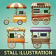 Stall Vector Illustration - GraphicRiver Item for Sale