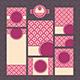 Set of Modern Wedding Cards - GraphicRiver Item for Sale