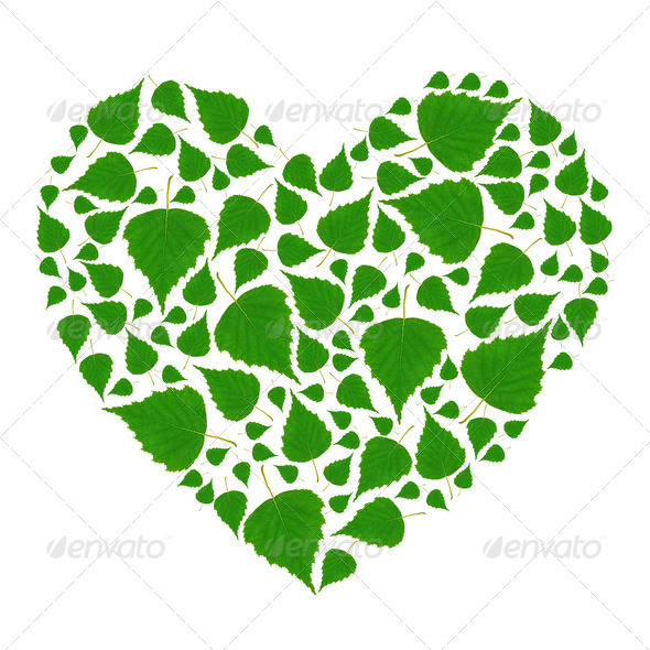 Green Heart - Stock Photo - Images