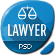 Lawyer - Bootstrap PSD Template - ThemeForest Item for Sale