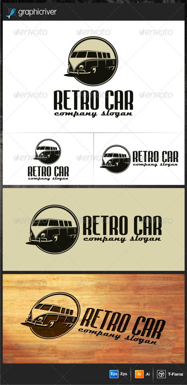 Retro Car Logo Templates by T-Famz | GraphicRiver