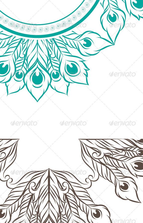 peacock pattern by alitsuarnegara graphicriver