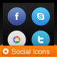 64 Social Media Icons - GraphicRiver Item for Sale