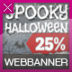 Halloween Web Banner Set - GraphicRiver Item for Sale