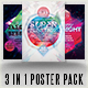 The Sounds 3 Poster Pack - GraphicRiver Item for Sale