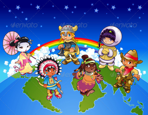 all over the world by Join the gang as they travel around the world creating musical mayhem.
