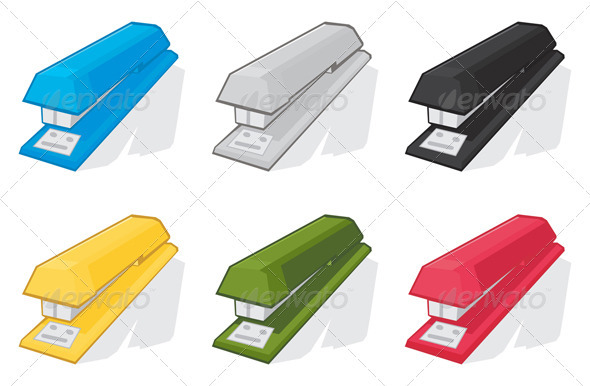 Stapler2 - Man-made Objects Objects