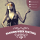 Fashion Week Festival Flyer - GraphicRiver Item for Sale