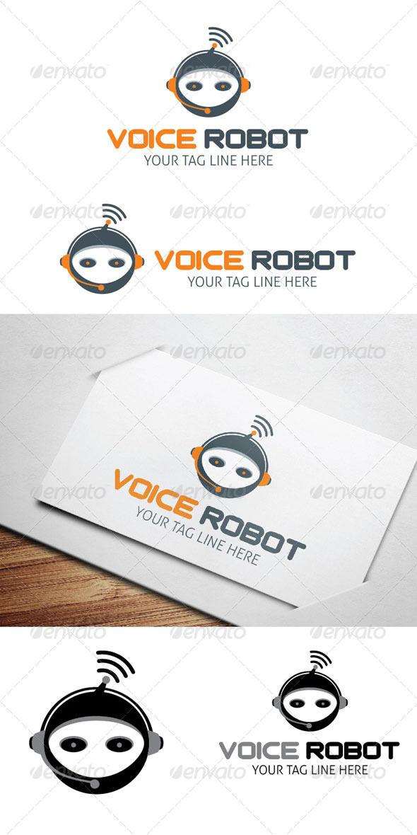 Voice Robot Logo - Logo Templates