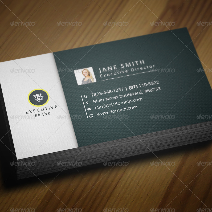 Executive brand business card vol6 by vectormedia graphicriver executive brand business card vol6 reheart Choice Image