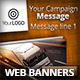 Transport Marketing Campaign Web Banners - GraphicRiver Item for Sale