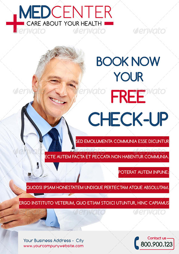 Health Medical Flyer Template By Webnovo Graphicriver