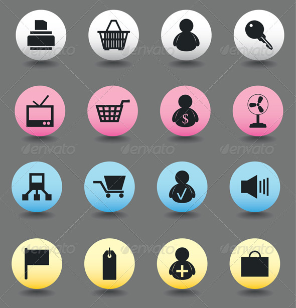 Icons of sales2 - Commercial / Shopping Conceptual