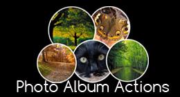 Photo Album Actions