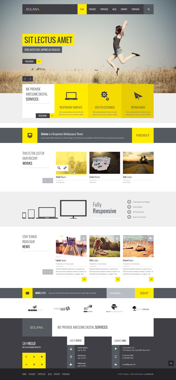 Elementor Homepage Templates