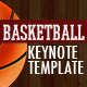 GAME PLAN - Basketball Keynote Template - GraphicRiver Item for Sale