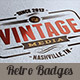 10 Retro Signs or Badges v.2 - GraphicRiver Item for Sale